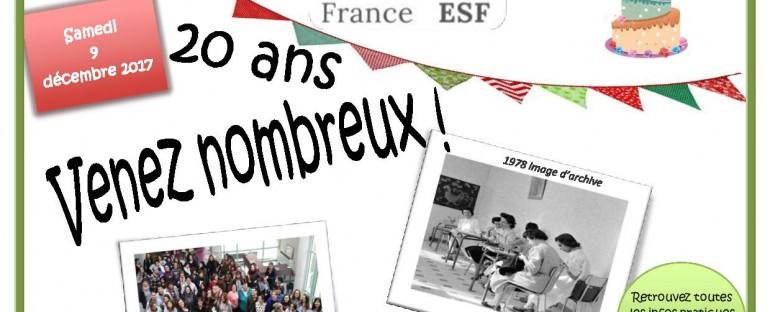 France ESF a 20 ans ! ! !