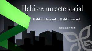 Habiter chez soi…<br /> Habiter en soi