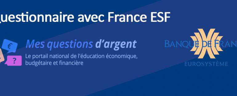 Questionnaire mesquestionsdargent.fr