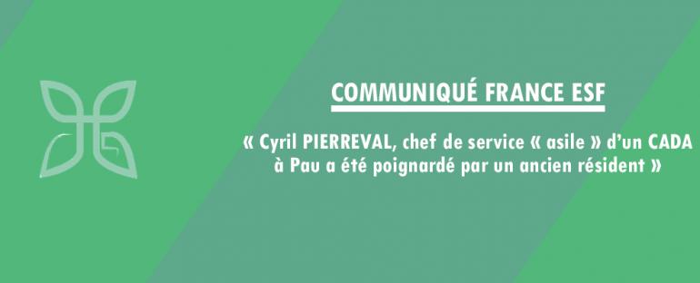 Communiqué France ESF – Cyril PIERREVAL