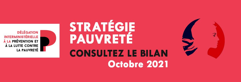 Stratégie pauvreté : BILAN Octobre 2021